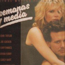Discos de vinilo: 9 SEMANAS Y MEDIA DISCO VINILO. Lote 36065073