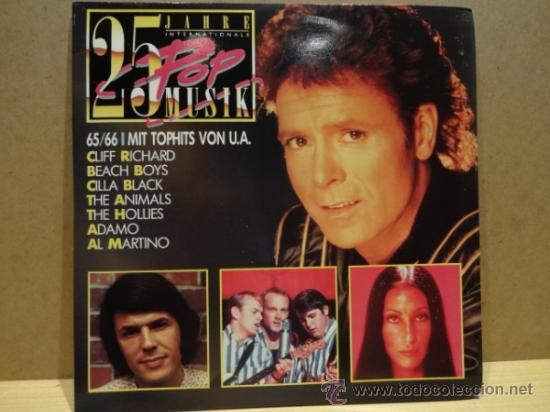 25 JAHRE INTERNATIONALE. 25 POP MUSIC. DOBLE LP. GATEFOLD. SELLO CBS. CALIDAD LUJO. ****/**** (Música - Discos - LP Vinilo - Pop - Rock Internacional de los 50 y 60)