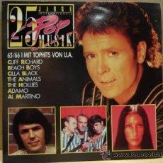 Discos de vinilo: 25 JAHRE INTERNATIONALE. 25 POP MUSIC. DOBLE LP. GATEFOLD. SELLO CBS. CALIDAD LUJO. ****/****. Lote 36067523