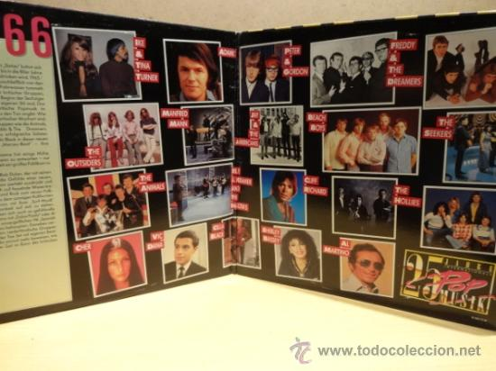 Discos de vinilo: 25 JAHRE INTERNATIONALE. 25 POP MUSIC. DOBLE LP. GATEFOLD. SELLO CBS. CALIDAD LUJO. ****/**** - Foto 2 - 36067523