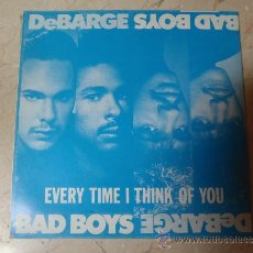 Discos de vinilo: SINGLE DEBARGE BAD BOYS. Lote 36072676