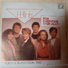 Discos de vinilo: SINGLE FOR EVER YONE FUR ALLE. Lote 36073407