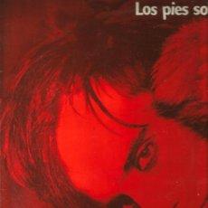 Discos de vinilo: LP ANGEL Y LAS GÜAIS : LOS PIES SOBRE LA TIERRA . Lote 36077766