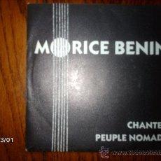 Discos de vinilo: MORICE BENIN - CHANTER + PEUPLE NOMADE . Lote 36088496