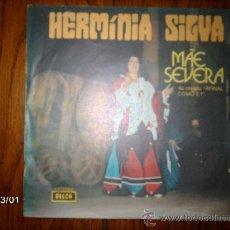 Discos de vinilo: HERMINIA SILVA - MAE SEVERA PARTE 1 Y 2 . Lote 36088552