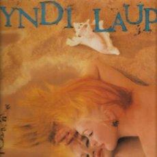 Discos de vinilo: CYNDI LAUPER TRUE COLORS DISCO VINILO. Lote 36317855