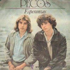 Discos de vinilo: PECOS ESPERANZAS 15 AÑOS DISCO VINILO SINGLE. Lote 219345230