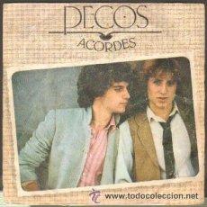 Discos de vinilo: PECOS ESPERANZAS ACORDES DISCO VINILO SINGLE. Lote 36318632