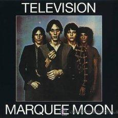 Discos de vinilo: LP TELEVISION MARQUEE MOON 180 G PUNK VINILO SACADO DE LAS CINTAS ORIGINALES. Lote 163331278