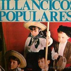 Discos de vinilo: LP ESCOLANIA DEL STMO. SACRAMENTO : VILLANCICOS POPULARES . Lote 36087906