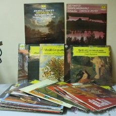 Discos de vinilo: LOTE DE 31 LP DE MUSICA CLASICA DEUTSCHE GRAMMOPHONE Y OTROS. Lote 36093877