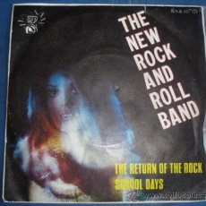 Discos de vinilo: THE NEW ROCK AND ROLL BAND THE RETURN OF THE ROCK. Lote 36093950