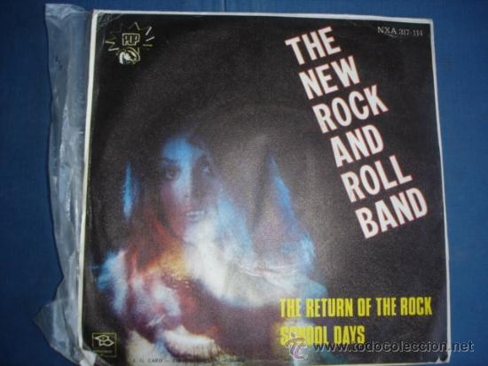 Discos de vinilo: THE NEW ROCK AND ROLL BAND THE RETURN OF THE ROCK - Foto 2 - 36093950
