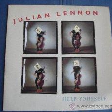 Discos de vinilo: JULIAN LENNON HELP YOURSELF . Lote 36094609