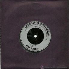 Discos de vinilo: KILLING JOKE. LET'S ALL GO (TO THE FIRE DANCES) (VINILO SINGLE 1983). Lote 36095010
