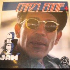 Discos de vinilo: CRAZY EDDIE & Q.Q. FREE STYLE - THE ALBUM - BLANCO Y NEGRO 1.991. Lote 195163520