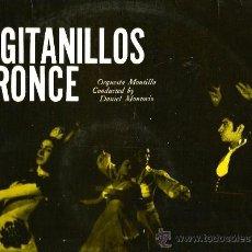 Discos de vinilo: LP LOS GITANILLOS DE BRONCE, CON LA ORQUESTA MONTILLA . Lote 36098847