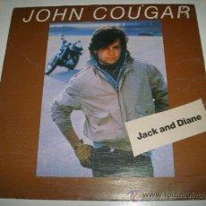 Discos de vinilo: JOHN COUGAR MELLENCAMP JACK AND DIANE / DANGER LIST (1982 WEA ESPAÑA) . Lote 36099906