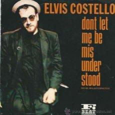Discos de vinilo: ELVIS COSTELLO - DON´T LET ME BE MISUNDERSTOOD PROMOCIONAL - RCA - 1986. Lote 36102901