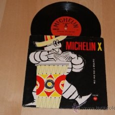 Discos de vinilo: MICHELIN DISCO SINGLE PUBLICIDAD ANTIGUO. Lote 36111567