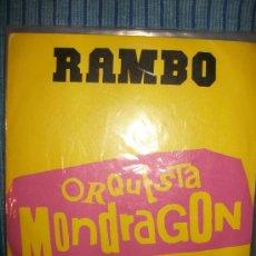 Discos de vinilo: VINILO EP - ORQUESTA MONDRAGON - RAMBO / MONTAÑA RUSA. Lote 36115097