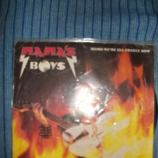 Discos de vinilo: VINILO EP - MAMA'S BOYS - MAMA WE'RE ALL CRAZEE NOW / THE PROFESSOR . Lote 36115218