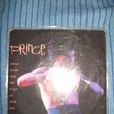 Discos de vinilo: VINILO EP - PRINCE - HOT THINGS / I COULD NEVER TAKE THE PLACE OF YOUR MAN. Lote 36115233