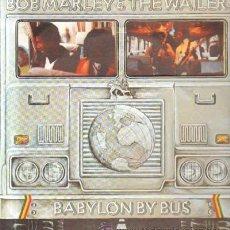 Disques de vinyle: BOB MARLEY & THE WAILERS. BABYLON BY BUS D-GRUPEXT-707. Lote 36115676