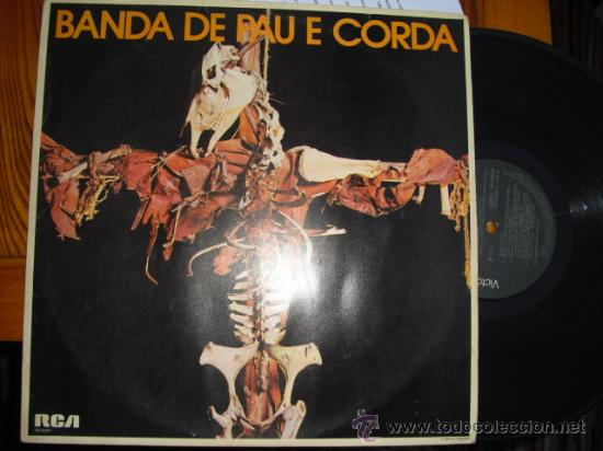 LP PAU DE CORDA IMPOSIBLE FOLK ROCK PROGRESIVO BRASIL VG++/VG++ (Música - Discos de Vinilo - EPs - Pop - Rock Internacional de los 50 y 60)