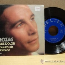 Discos de vinilo: EL CHOZAS. AY QUE DOLOR. SINGLE 1976. SELLO BELTER. IMPECABLE. ****/****. Lote 36185965