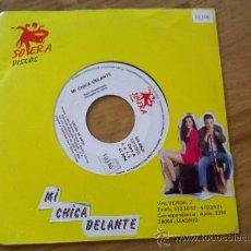 Discos de vinilo: MI CHICA DELANTE. LOCURA DE AMOR.. Lote 36133819