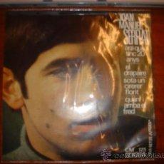 Discos de vinilo: JOAN MANUEL SERRAT/ARA QUE TINC 20 ANYS/EL DRAPAIRE/QUAN ARRIBA EL FRED. EDIGSA. Lote 36180718