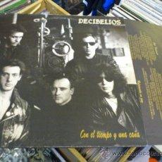 Discos de vinilo: DECIBELIOS CON EL TIEMPO Y UNA CAÑA LP VINILO PUNK OI!. Lote 36142624