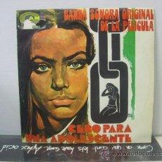 Discos de vinilo: CEBO PARA UNA ADOLESCENTE B.S.O. - A.C. SANTIESTEBAN - CAM 1973. Lote 36149643