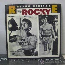Discos de vinilo: RHYTHM HERITAGE - TEMA DE ROCKY / LAST NIGHT ON EARTH - EDICION ESPAÑOLA - ABC 1977. Lote 36150549