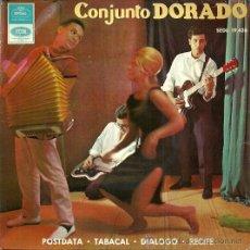 Discos de vinilo: CONJUNTO DORADO EP SELLO EMI-REGAL AÑO 1965. Lote 36167608