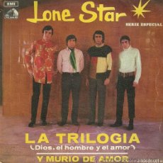 Discos de vinilo: LONE STAR SINGLE SELLO EMI-ODEON AÑO 1969. Lote 36171822