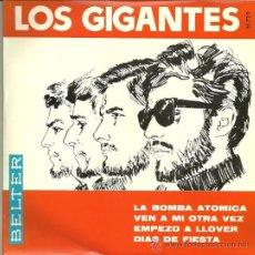 Discos de vinilo: LOS GIGANTES EP SELLO BELTER AÑO 1966. Lote 36172069