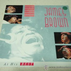 Discos de vinilo: JAMES BROWN ( AT HIS BEST ) 1987 - GERMANY LP33 SCOTTI BROS RECORDS. Lote 36172951