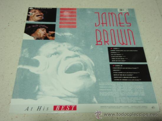 Discos de vinilo: JAMES BROWN ( AT HIS BEST ) 1987 - GERMANY LP33 SCOTTI BROS RECORDS - Foto 2 - 36172951
