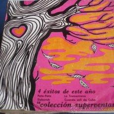 Discos de vinilo: COLECCION SUPERVENTAS STARLUX 4 EXITOS DE ESTE AÑO. Lote 36180984