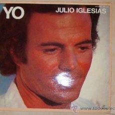 Discos de vinilo: LP JULIO IGLESIAS ALBUM YO- RECOPILATORIO AÑOS 70 COLUMBIA 1982 OFERTA 7 LP JULIO 28 EUROS. Lote 56754012
