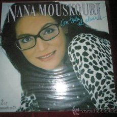 Discos de vinilo: 2 LP-NANA MOUSKOURI-CON TODO EL ALMA-POLYGRAM-1986-.. Lote 36668373