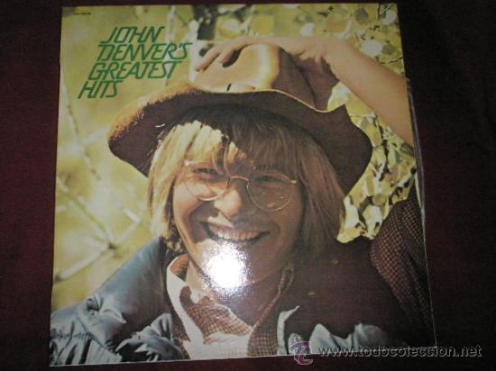 LP-JOHN DENVER´S-GREATEST HITS-RCA-1974-11 CANCIONES-NUEVO. (Música - Discos - LP Vinilo - Cantautores Internacionales)