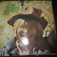 Discos de vinilo: LP-JOHN DENVER´S-GREATEST HITS-RCA-1974-11 CANCIONES-NUEVO.. Lote 36811396