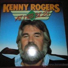 Discos de vinilo: LP-KENNY ROGERS-AT HIS BEST-19 CANCIONES-FUN-.. Lote 36864042