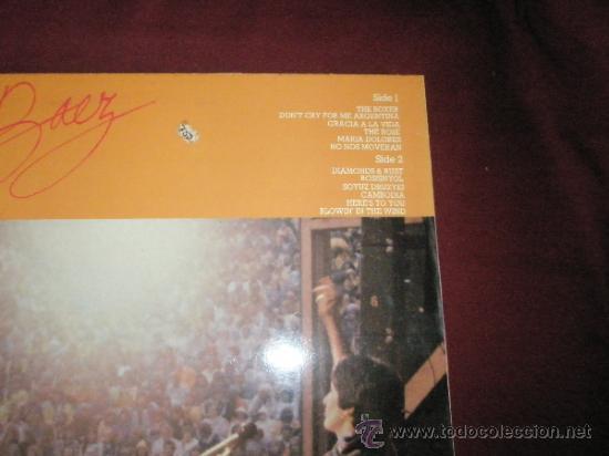 Discos de vinilo: LP-JOAN BAEZ-TOUR EUROPEA-1982-CBS-PERFECTO. - Foto 3 - 36188454