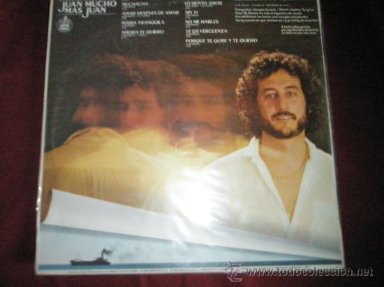 Discos de vinilo: +++LP-VINILO-JUAN PARDO-JUAN MUCHO MÁS JUAN-HISPAVOX-1980- - Foto 3 - 36178619