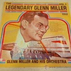Discos de vinilo: THE LEGENDARY GLENN MILLER VOL.1 ENGLAND LP33 RCA RECORDS. Lote 36199199