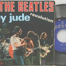 Discos de vinilo: THE BEATLES HEY JUDE-REVOLUTION SINGLE EMI ODEON 1968. Lote 36199831